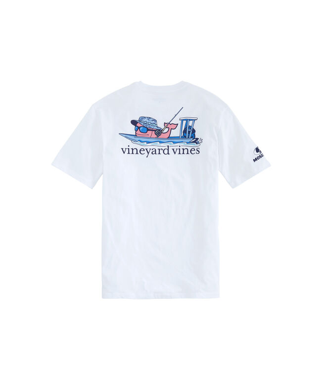 Mossy Oak Flats Fishin' Whale Pocket T-Shirt