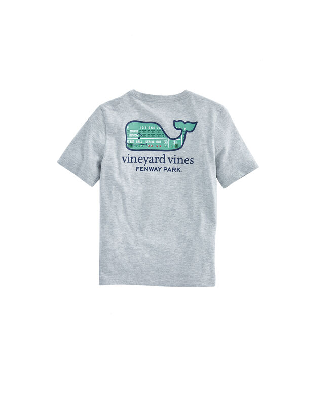 Kids Boston Red Sox Green Monster Whale T-Shirt