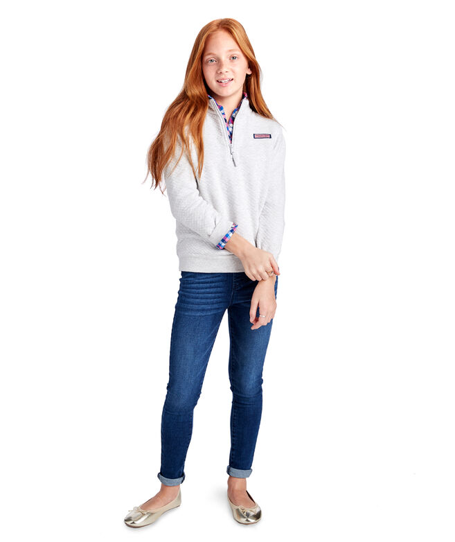 Girls Classic Quilted Shep Shirt