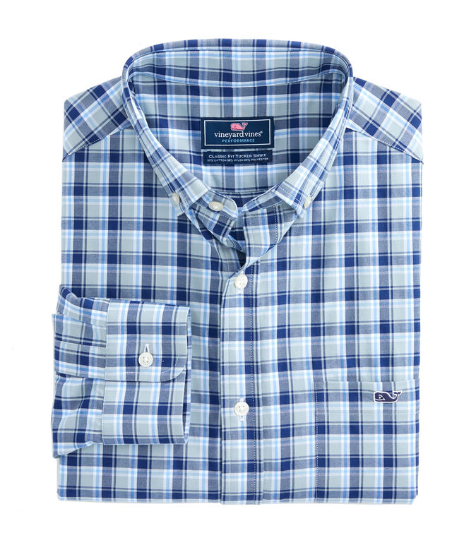 Black Water Performance Classic Tucker Shirt