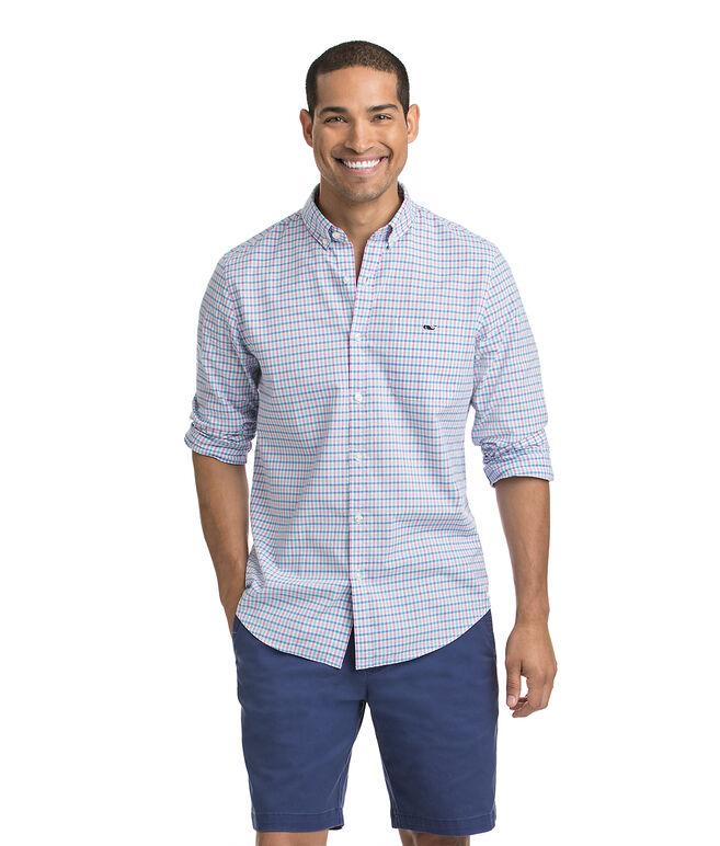 Sweetgum Gingham Slim Tucker Shirt