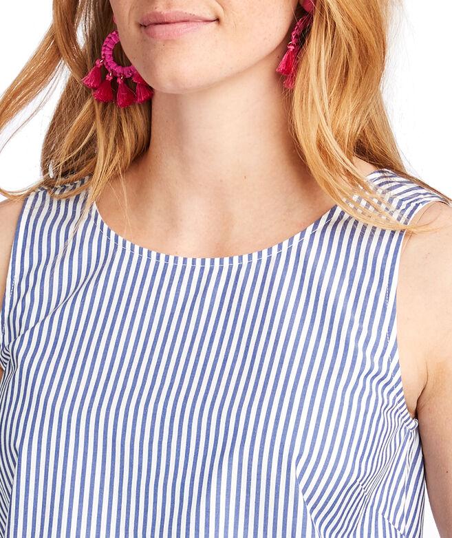 Sarah Stripe Bow Back Top