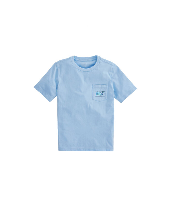 Boys Sea Turtles Whale Fill Pocket T-Shirt