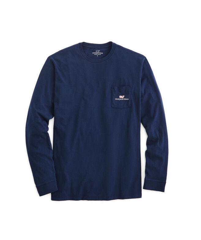 c58577b81 Mens T-Shirts: Long-Sleeve vineyard vines Logo Graphic T-Shirt ...