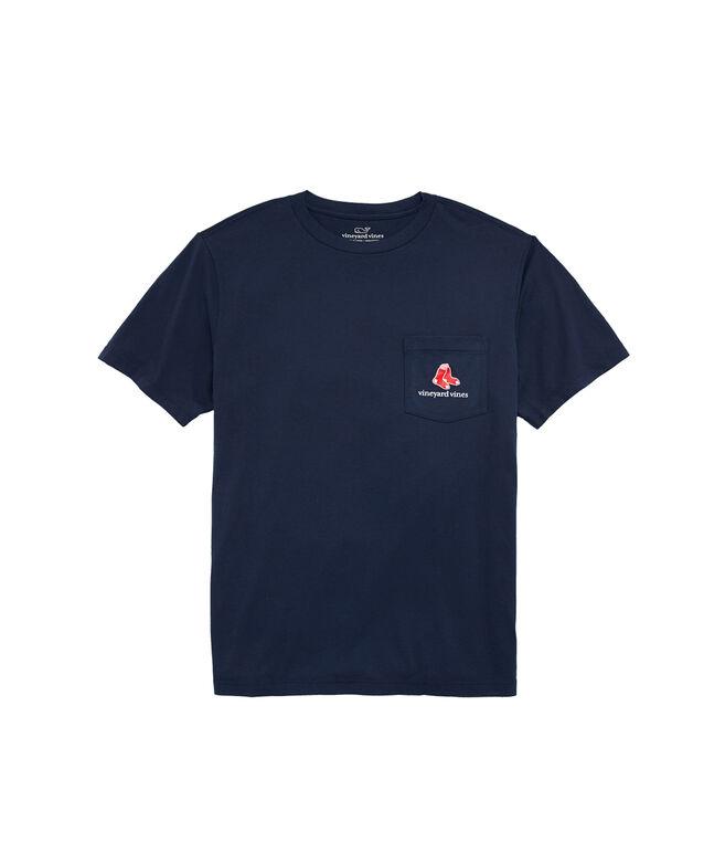 Boston Red Sox Stamp Pocket T-Shirt