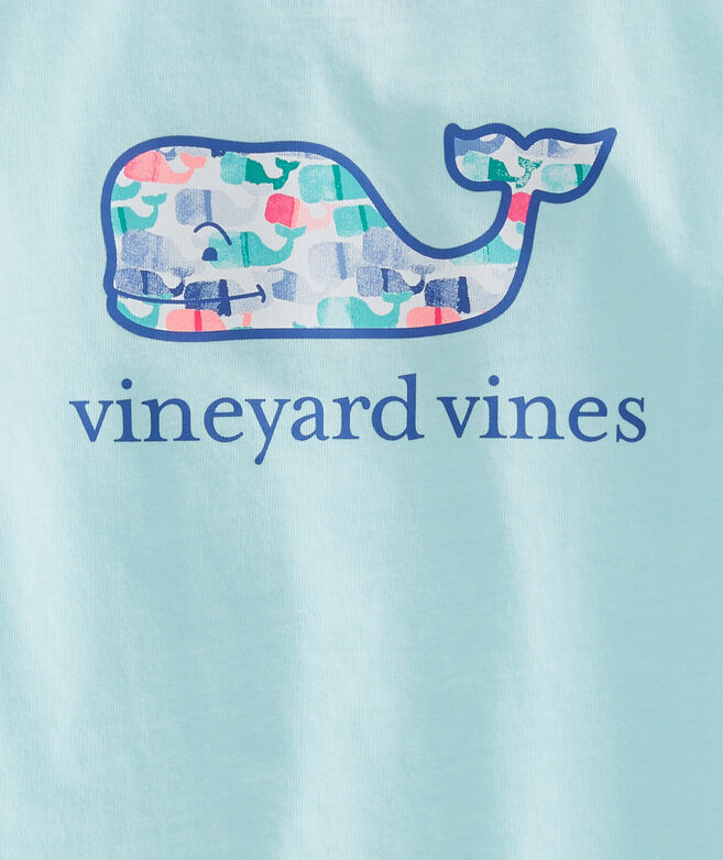 Girls Candy Whale Pocket Tee