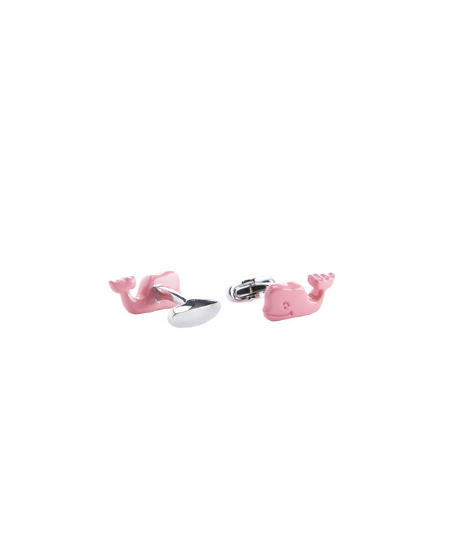 vv Whale Cuff Links