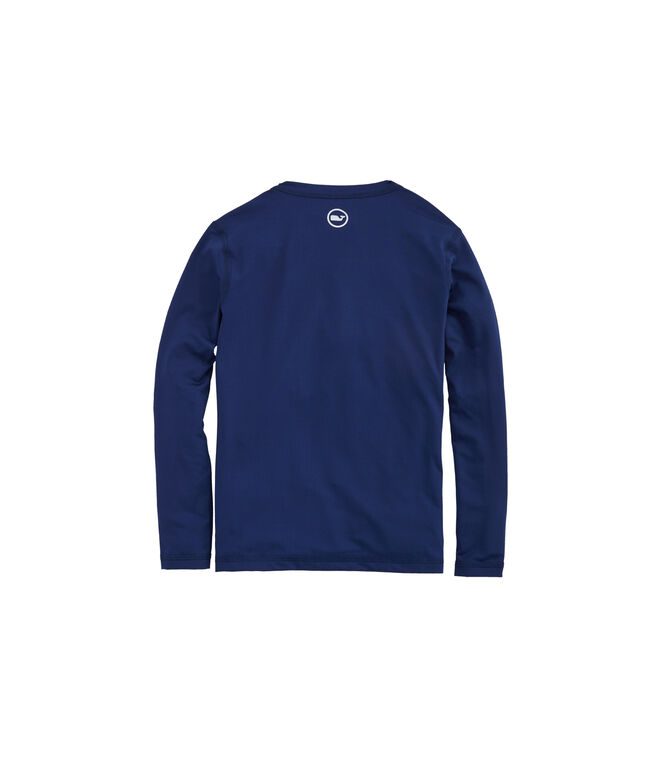 Boys' Sportfisher Patch Long-Sleeve Rashguard