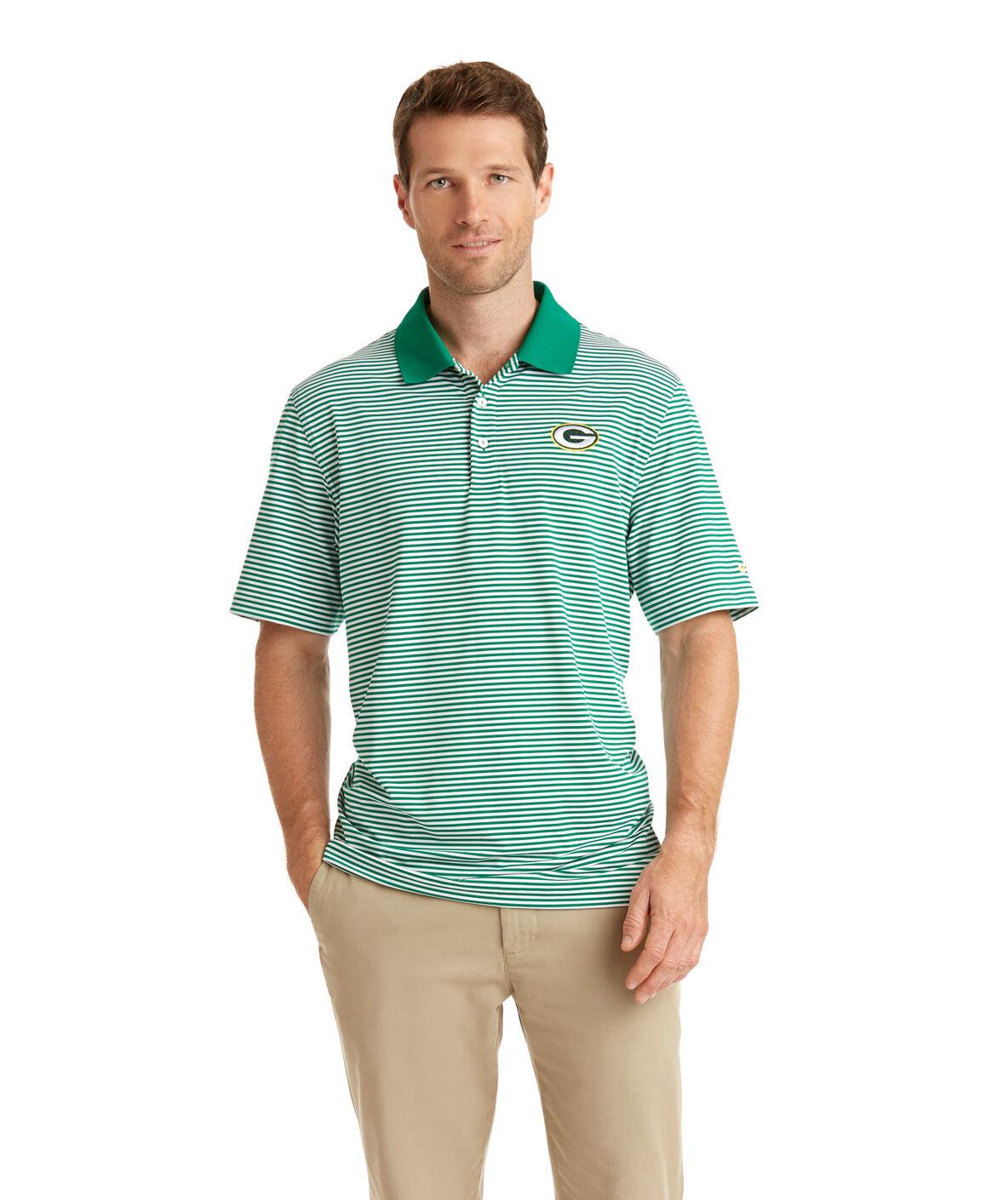 Green Bay Packers Womens Polo Shirt Rldm