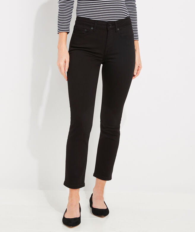 Jamie High-Rise Straight Cropped Jeans