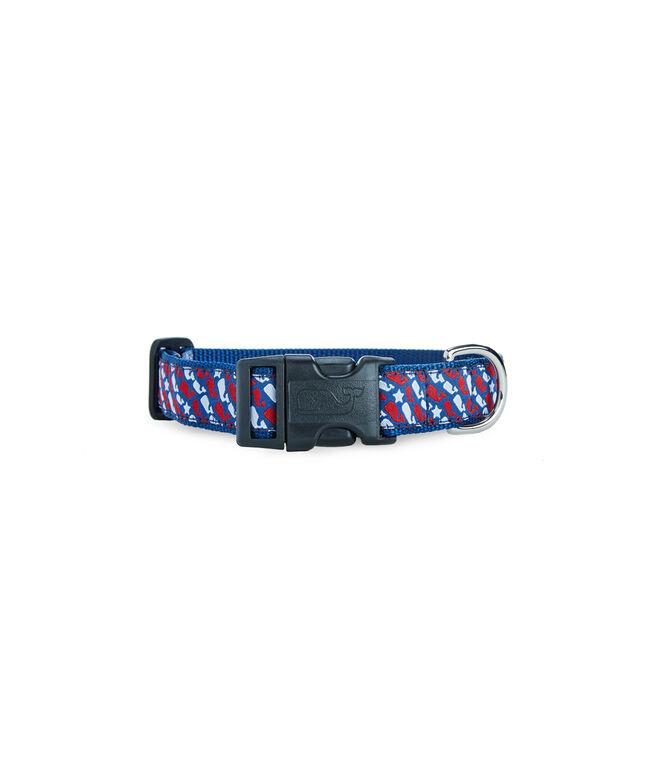 Stars & Whale Dog Collar