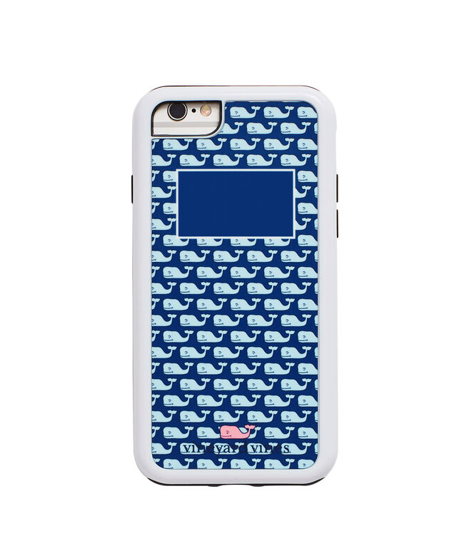 Monogrammed Vineyard Whale iPhone 6 Case