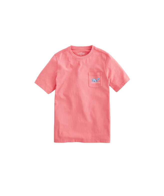 Boys Shell Crab Whale Fill Short-Sleeve Pocket Tee