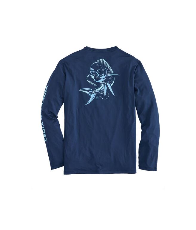 Long-Sleeve Performance Fast Mahi T-Shirt