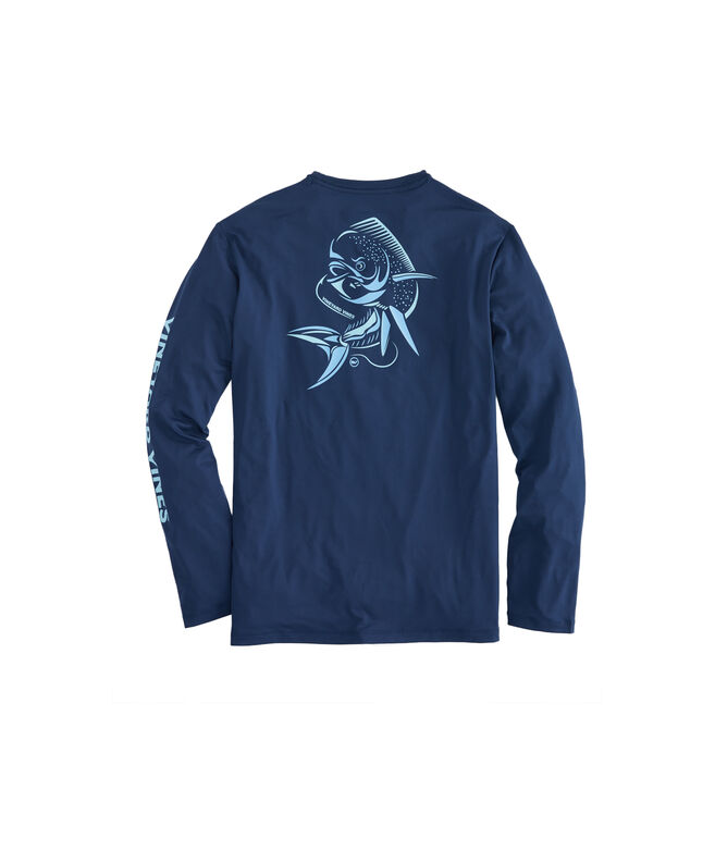Long-Sleeve Performance Fast Mahi T-Shirt