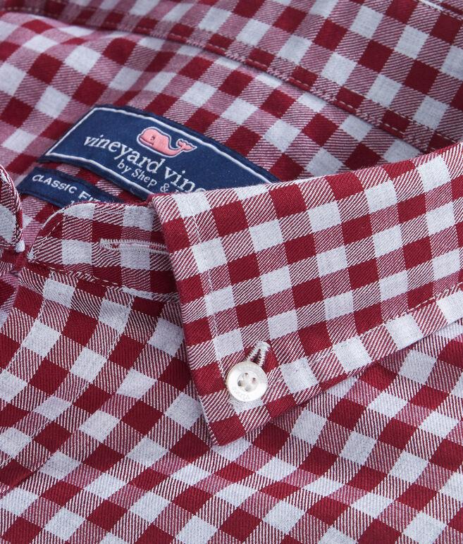 Cliff Gingham Classic Tucker Shirt