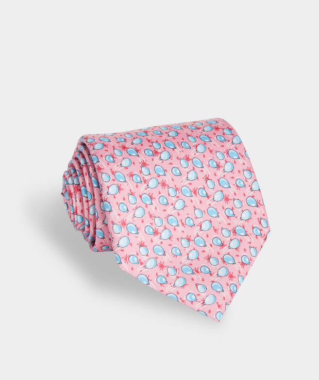 Water Balloon Toss Printed Tie