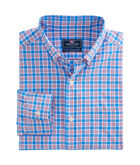 Lighthouse Road Plaid Classic Performance Murray Shirt