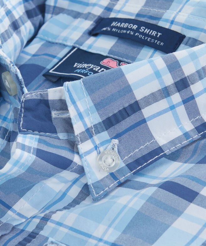 Boys Placida Plaid Harbor Shirt