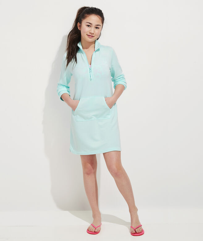 Girls' Vintage Whale Cover-Up