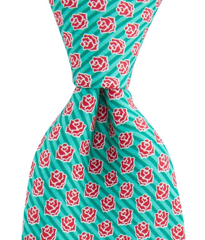 Rose Stripe Tie