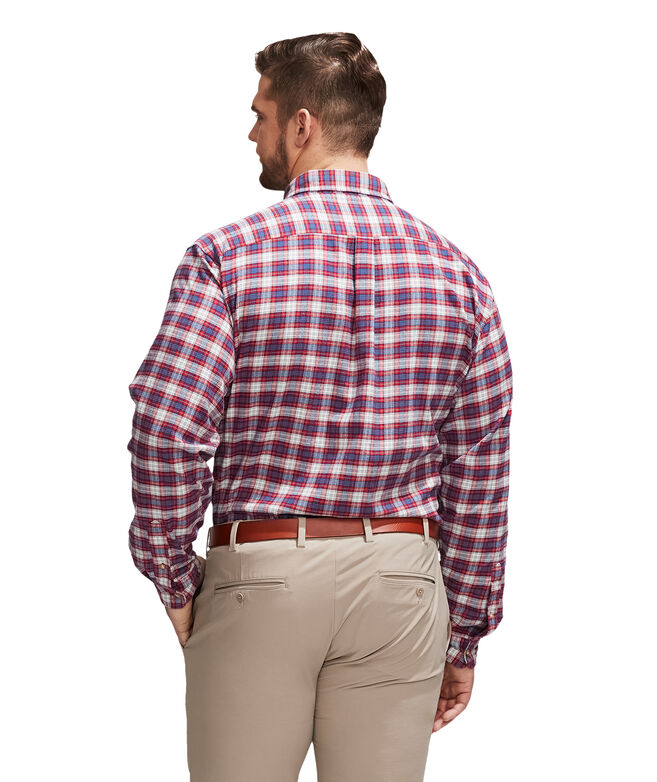 Big & Tall Squaw Flannel Murray Button-Down Shirt