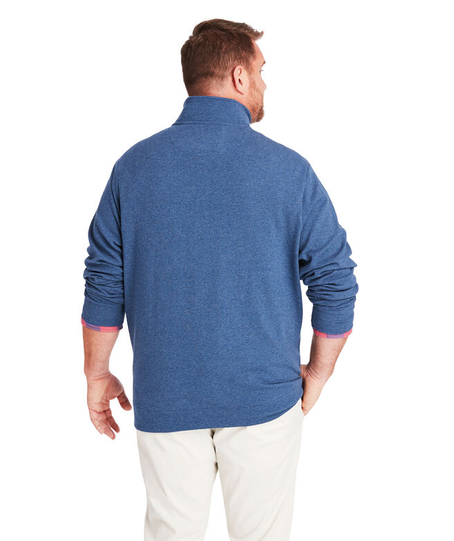 Big & Tall Saltwater 1/2-Zip Pullover