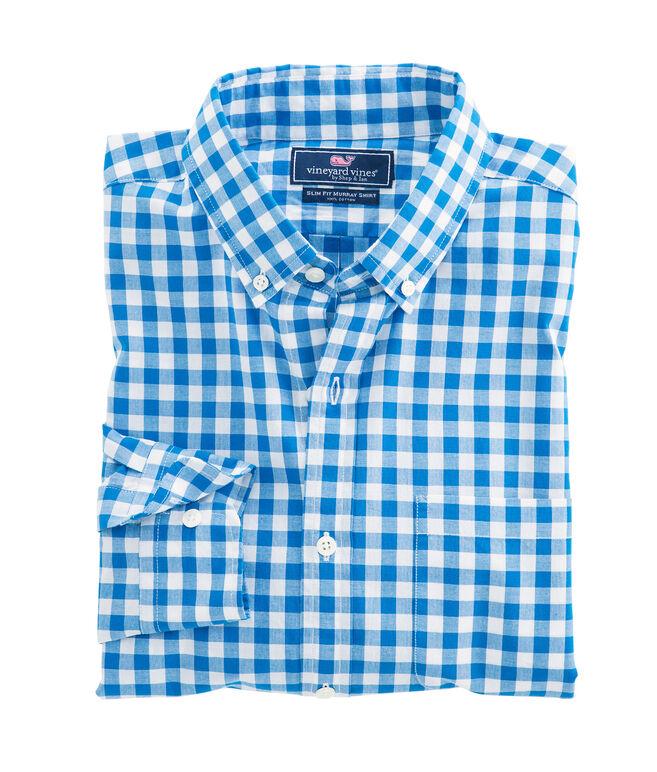 Fairmount Gingham Slim Murray Shirt