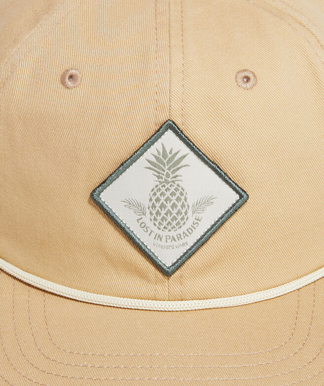 Lost in Paradise Rope Flat Brim Baseball Hat