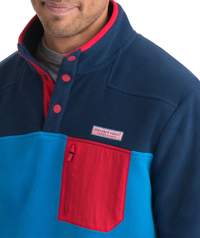 Party Snap Placket Fleece Shep Shirt
