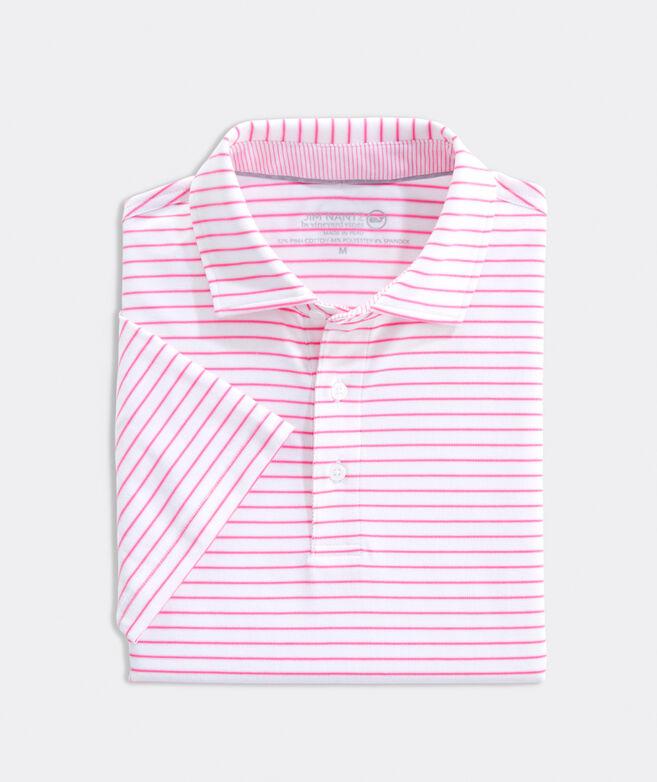 Carmel Cypress Stripe Polo