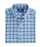 Lacker Plaid Performance Slim Tucker Shirt