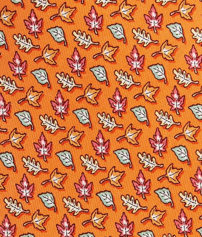 Fall Leaves Tie
