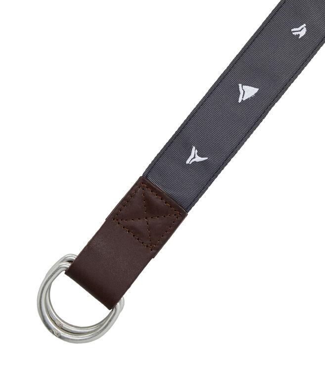 Shark Week D-Ring Belt