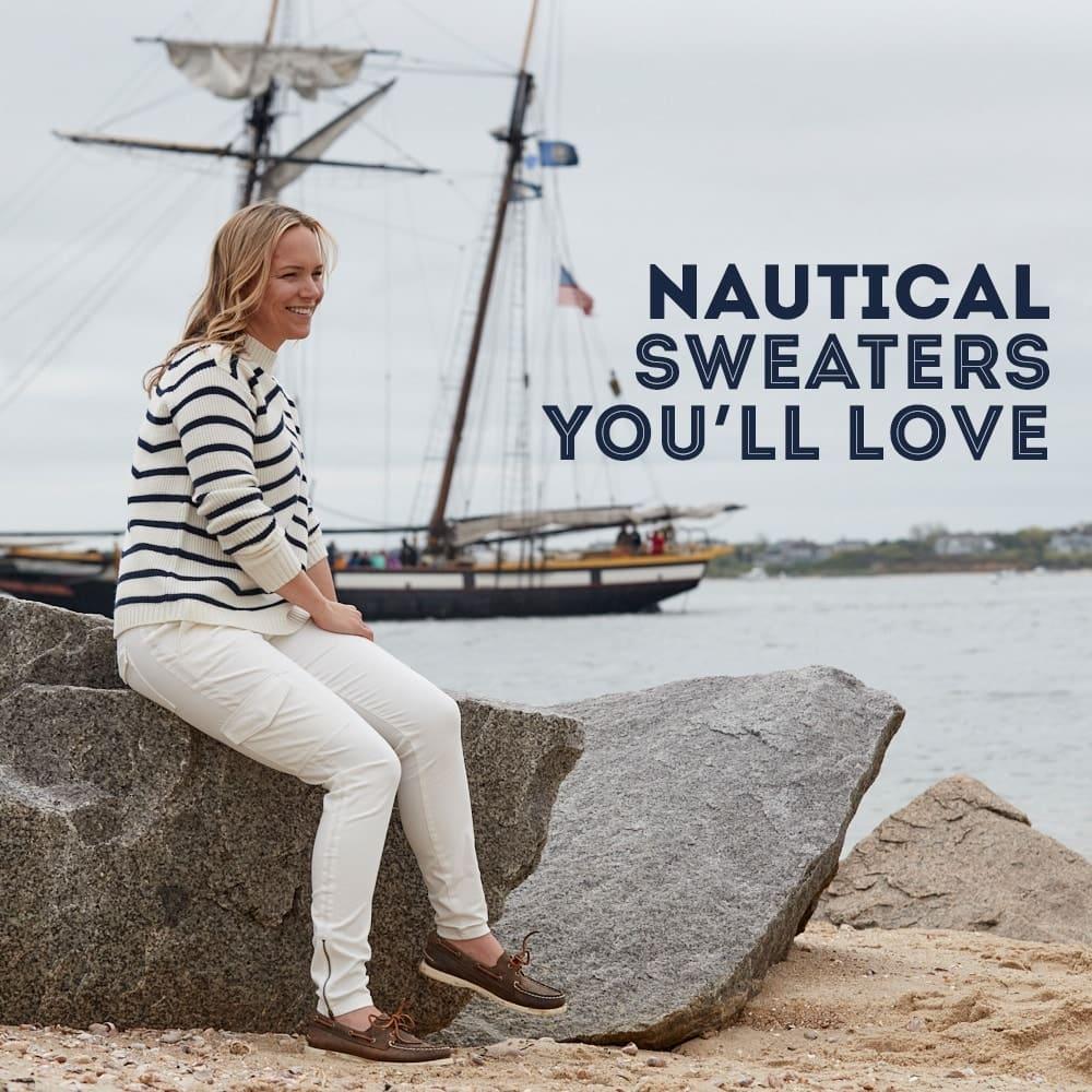 Nautical Sweaters You'll Love. Womens Sweaters Shop