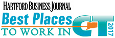 Hartford Business Journal. Best Places To Work In CT 2017.