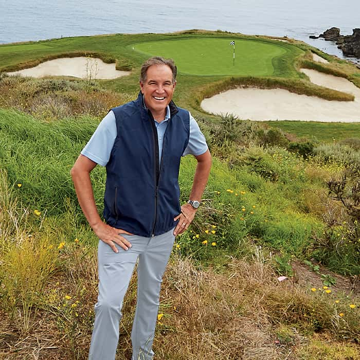 jim nantz at pebble beach