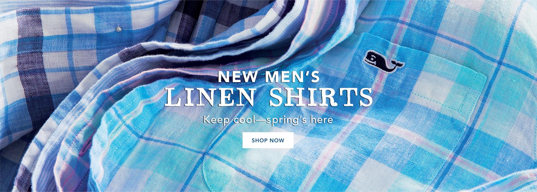 Shop mens linen shirts.