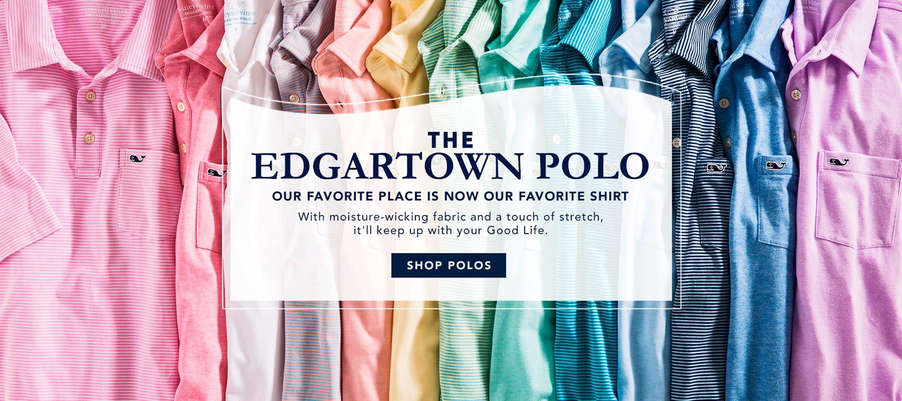 The Edgartown polo. Shop polos.
