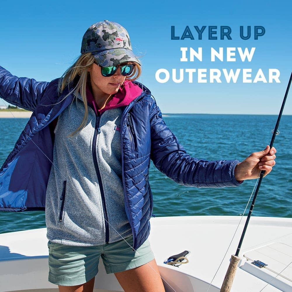 Layer up in new outerwear. Shop Women's Outerwear