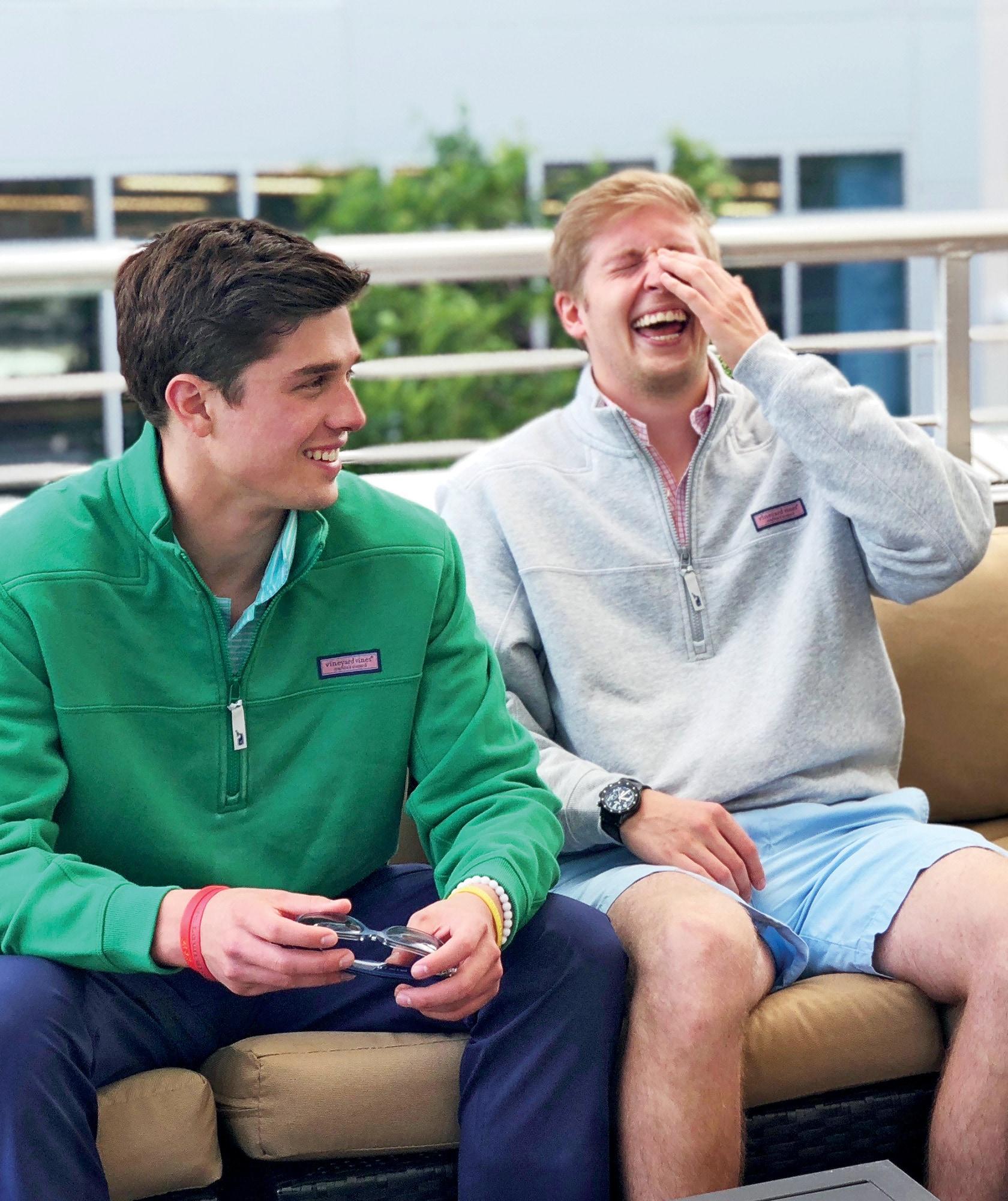boys wearing shep shirts