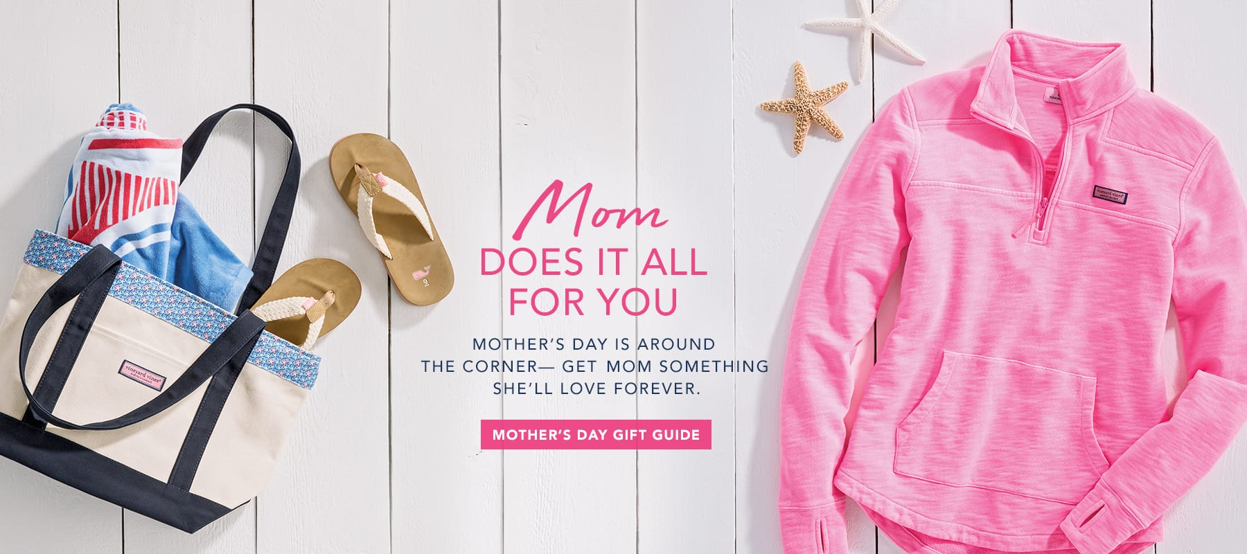 Mom does it all for you. Shop Mother's Day Gift Guide.