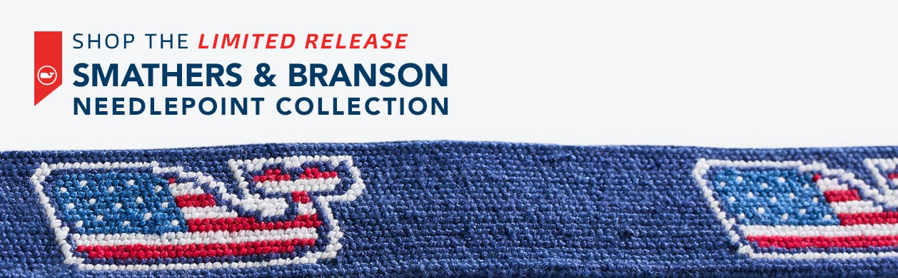 Shop the Limited Release Smathers & Branson Needlepoint Collection