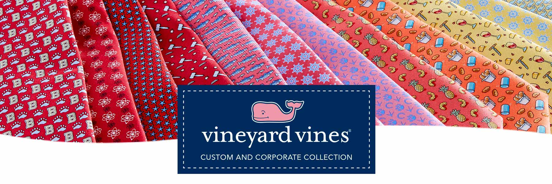 vineyard vines Custom and Corporate Collection.