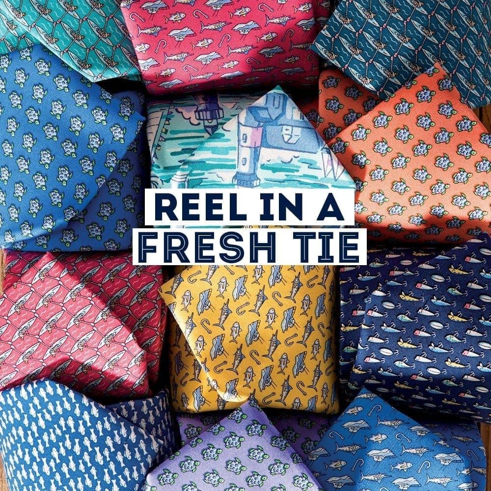 Reel in a Fresh Tie. Tie Shop