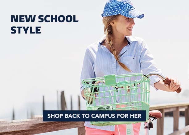 New School Style. Shop Back to Campus for Her.