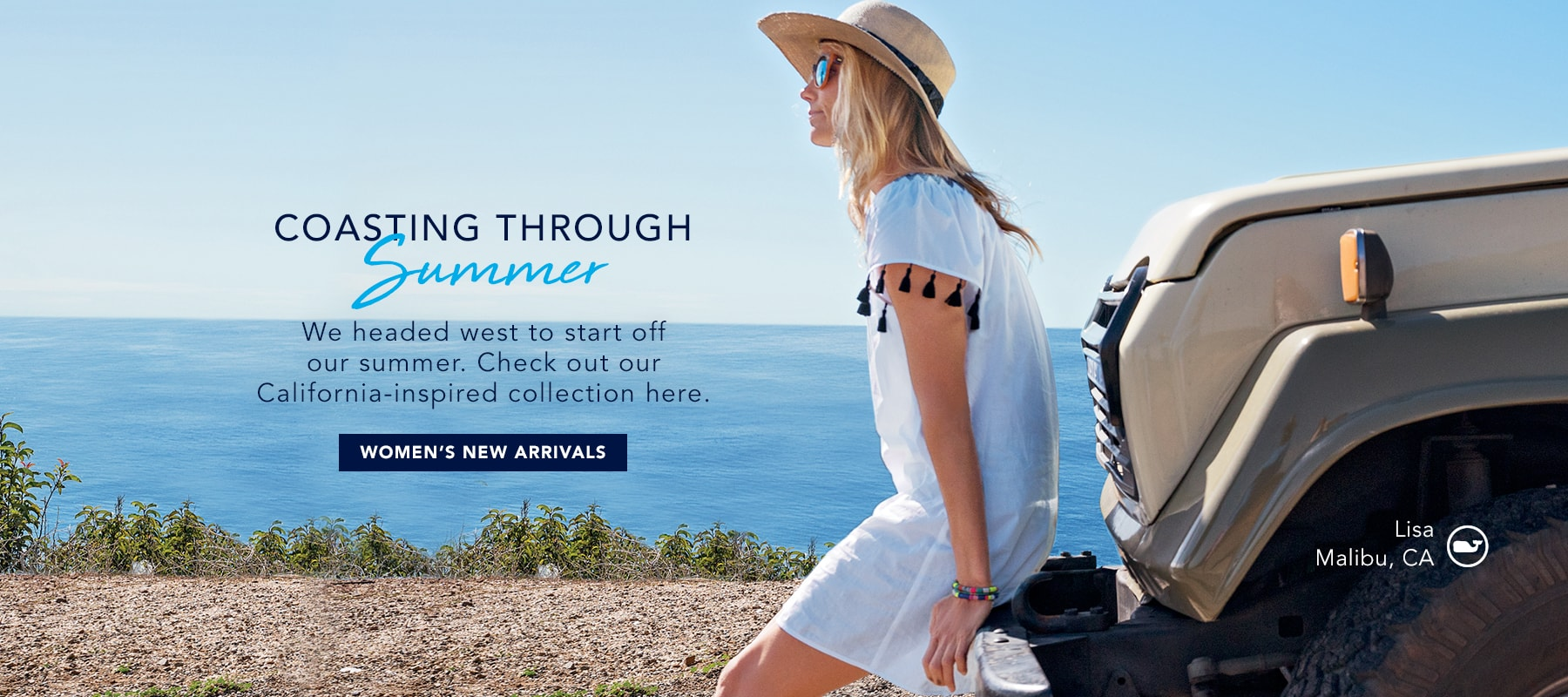 Coasting through summer. Shop women's new arrivals.