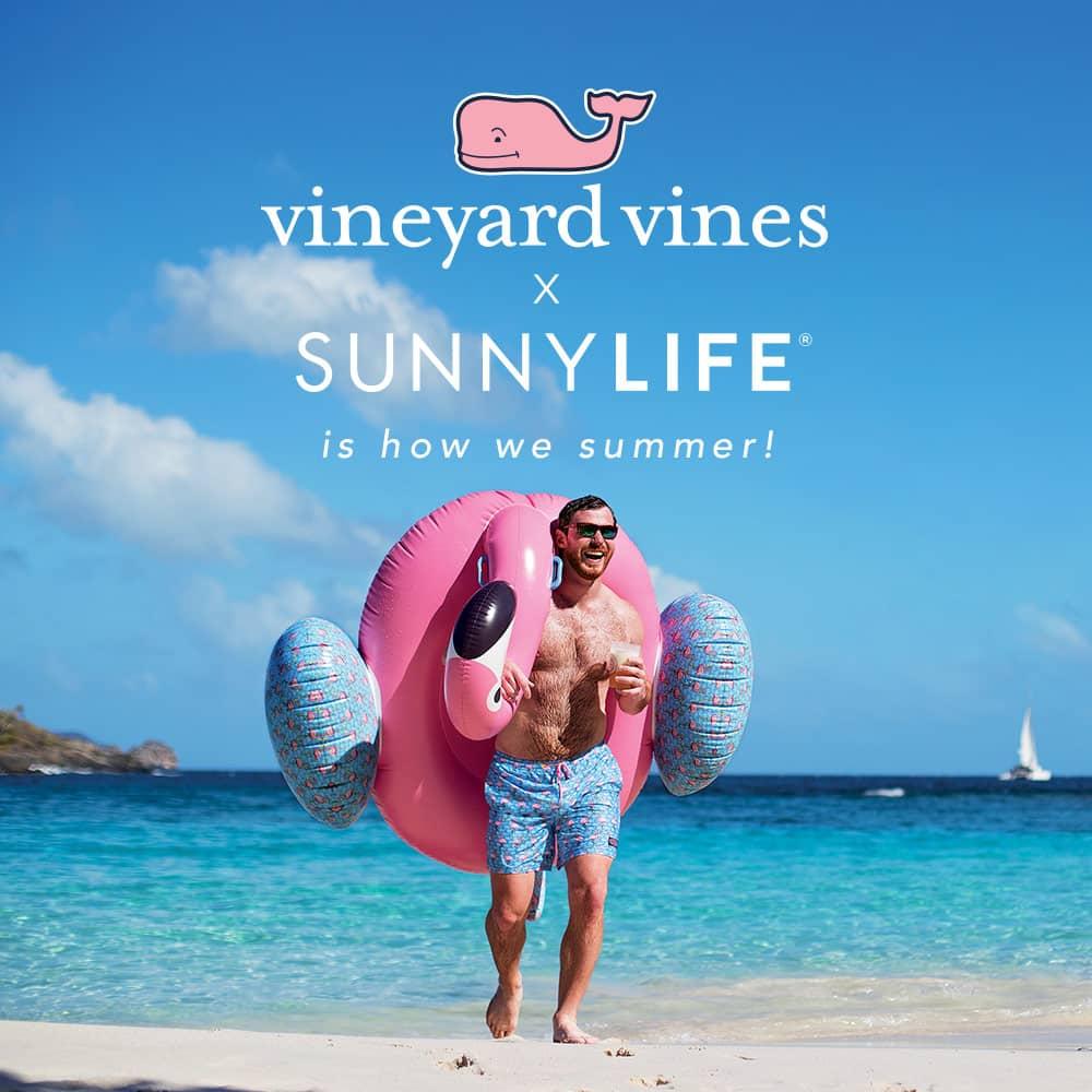 vineyard vines x SunnyLife is how we summer!