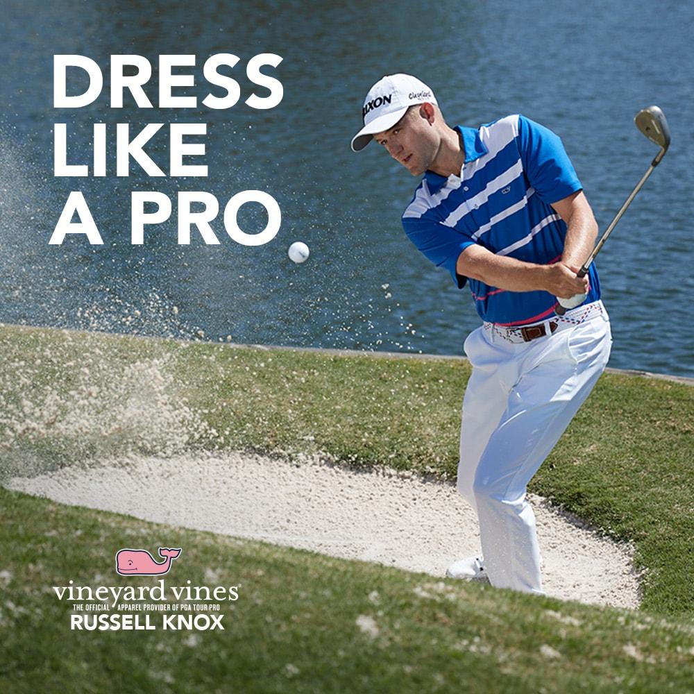 Dress like a Pro.