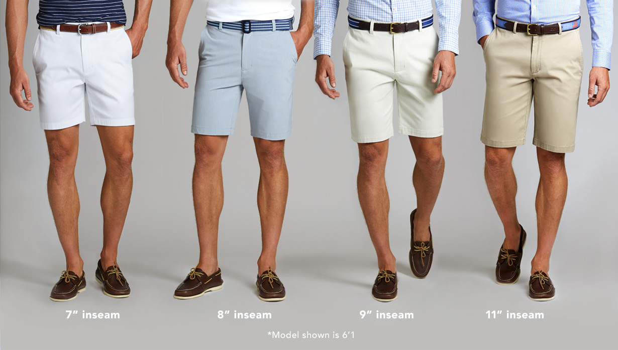Mens Shorts Fit Guide